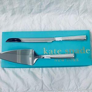 KATE SPADE- 2 Piece Dessert Set